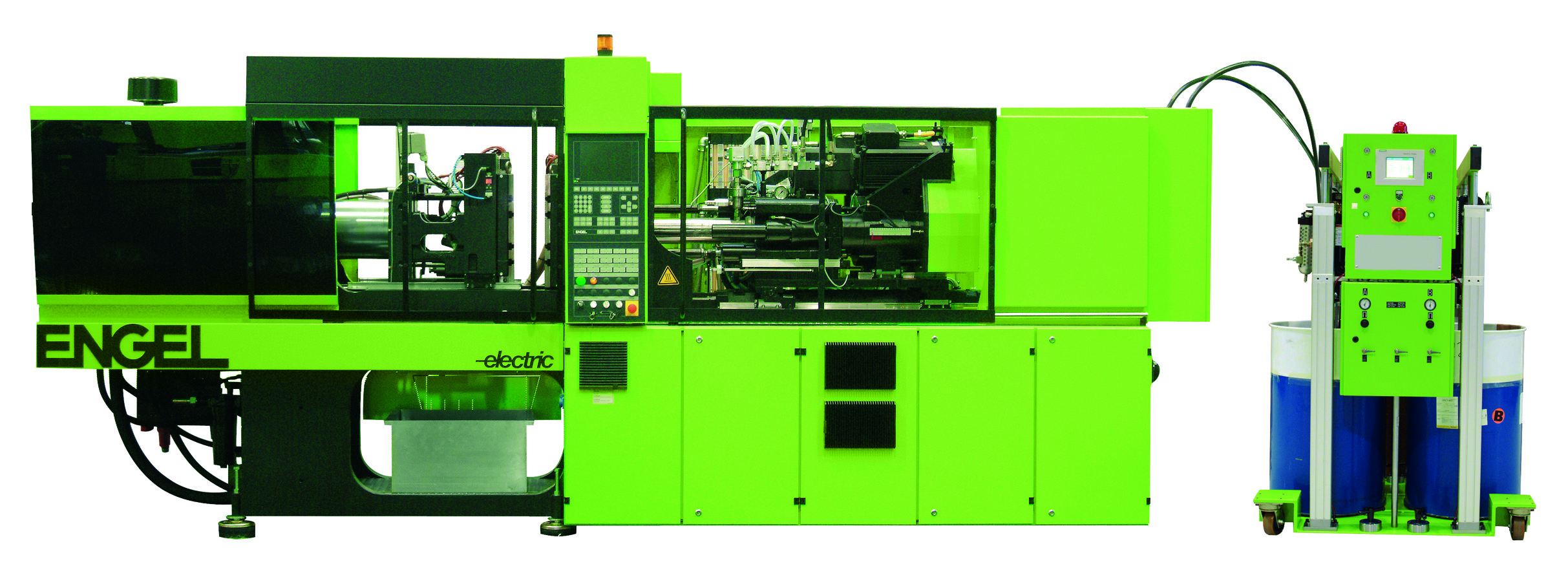 injection molding machine operation